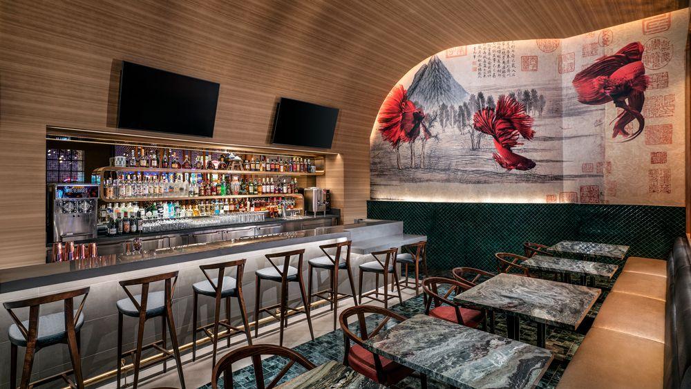 The bar at Tim Ho Wan