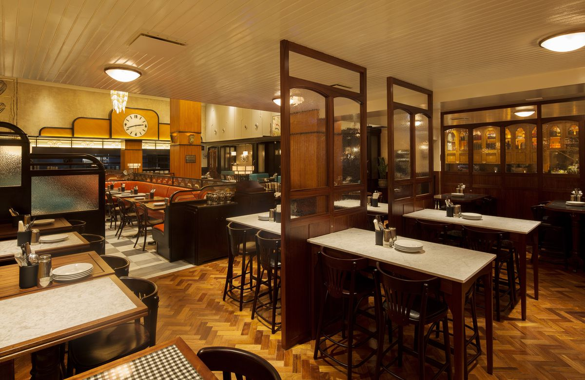 Inside Dishoom S New Art Deco And Jazz Inspired Kensington Restaurant Eater London
