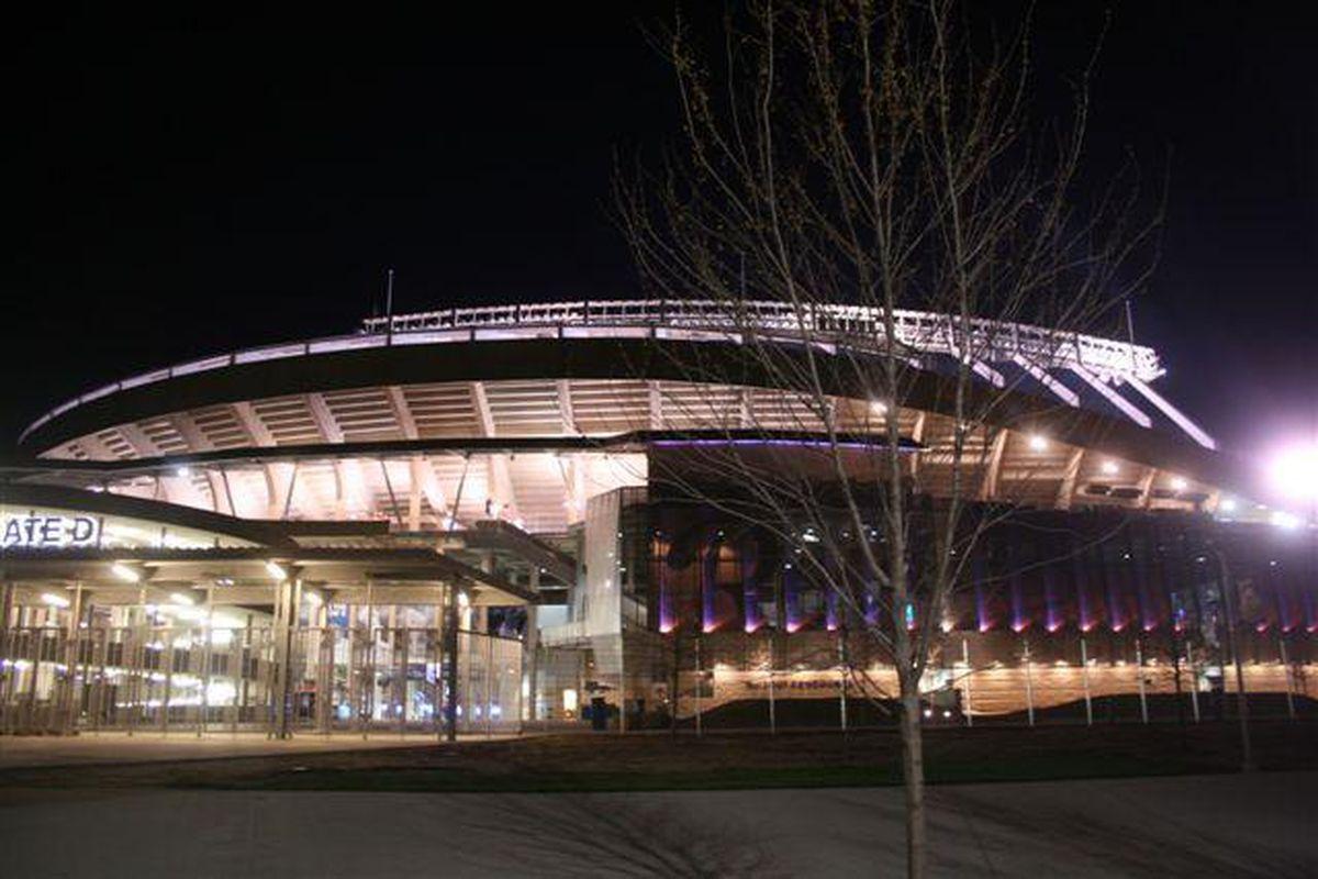 <em>Kansas and Missouri played the second annual Border Showdown game last night at the renovated Kauffman Stadium</em>.