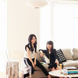 The women behind White Label: Gloria Wong (left) and Jubille Lau