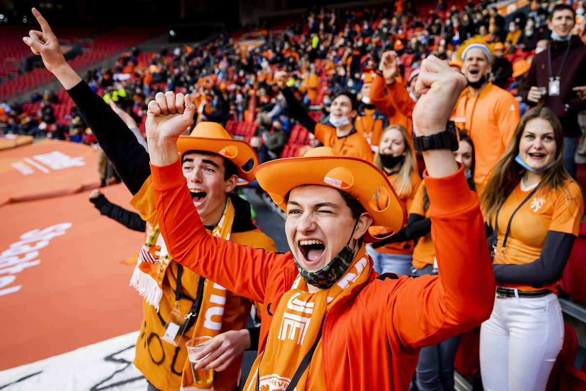 """FIFA World Cup Qualifier""""The Netherlands v Latvia"""""""