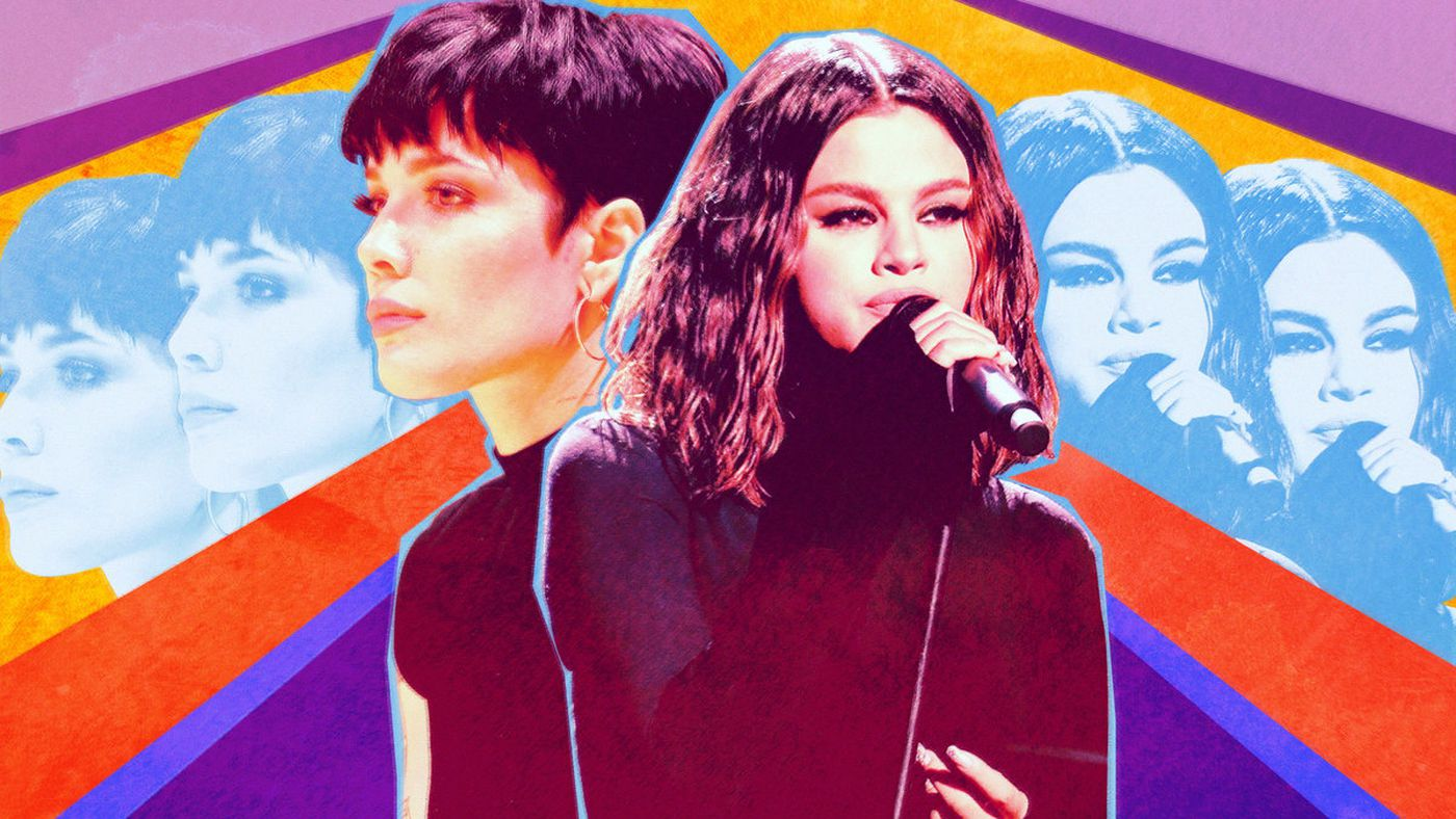 Halsey and Selena Gomez Are Both Searching for Peace of Mind