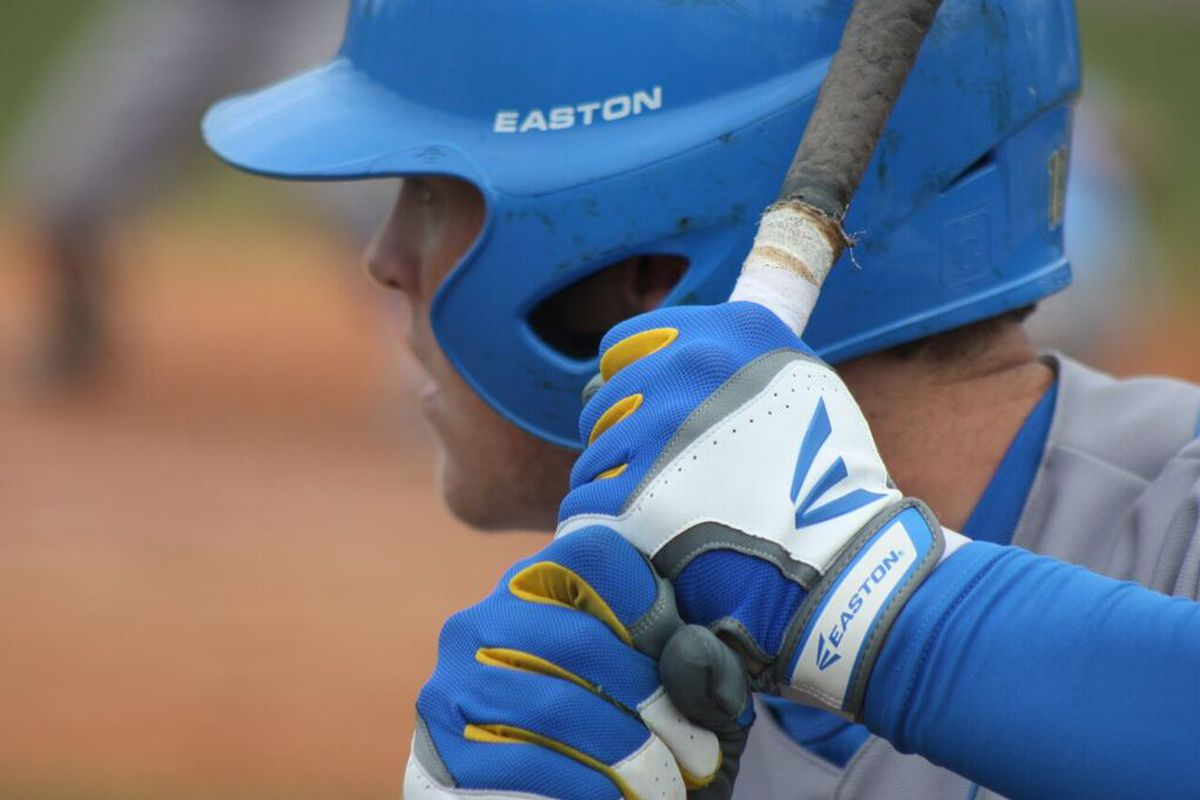 Kort Peterson leads the Bruins in hitting.