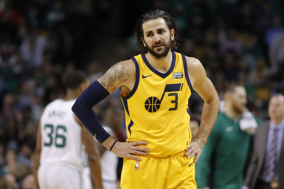 e77bf06fb43 Share The Odd Couple Pairing of Ricky Rubio and the Hayward-less Utah Jazz.  tweet share Reddit Pocket Flipboard Email. David Butler II-USA TODAY Sports