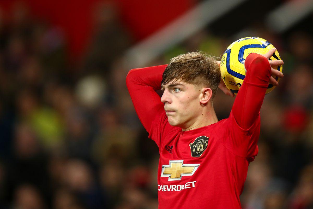 Brandon Williams - Manchester United v Burnley FC - Premier League
