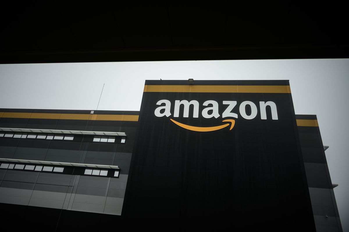 An Amazon facility in France.