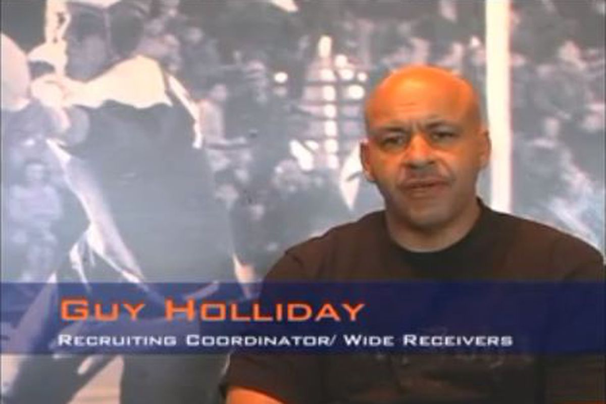 Guy Holliday in a video from his UTEP days.