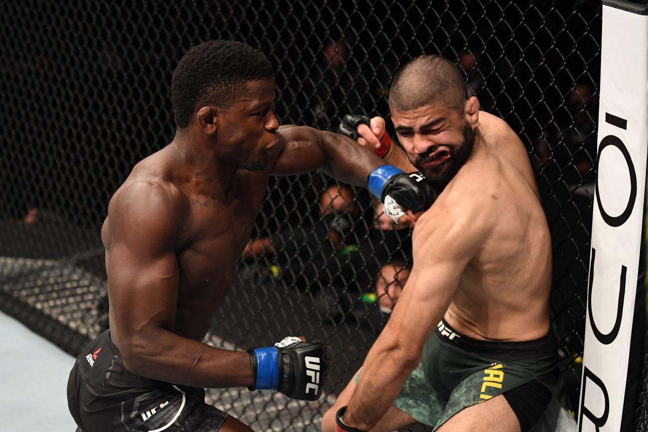 UFC 254: Malkoun v Hawes
