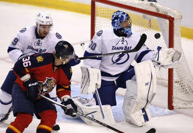 Ben Bishop had a stellar 2014-15 campaign, but lost out to Carey Price for the Vezina Trophy. (Courtesy of Robert Mayer/USA Today Sports)