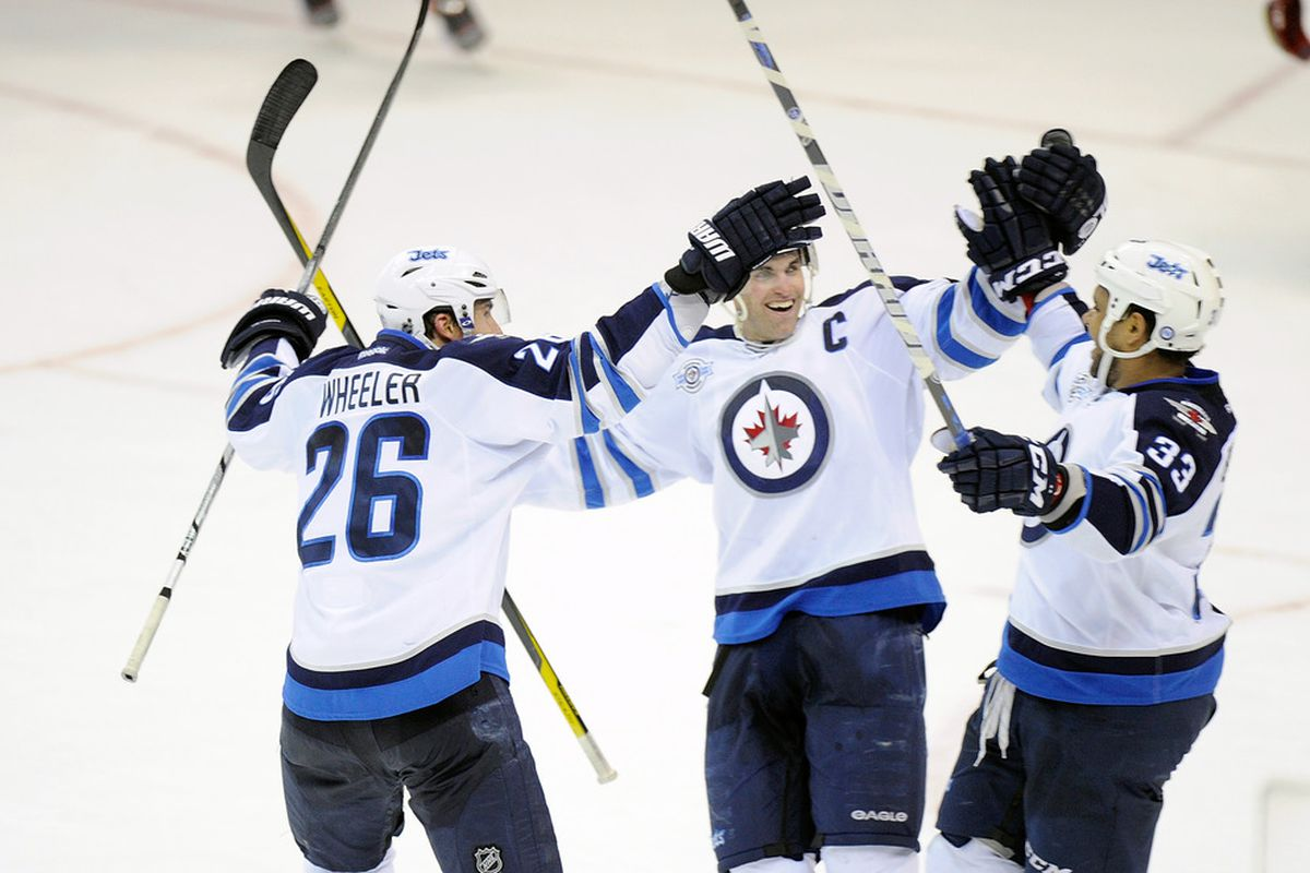 Two goals in 12 seconds!  We are an offensive juggernaut!  Smiles all around!