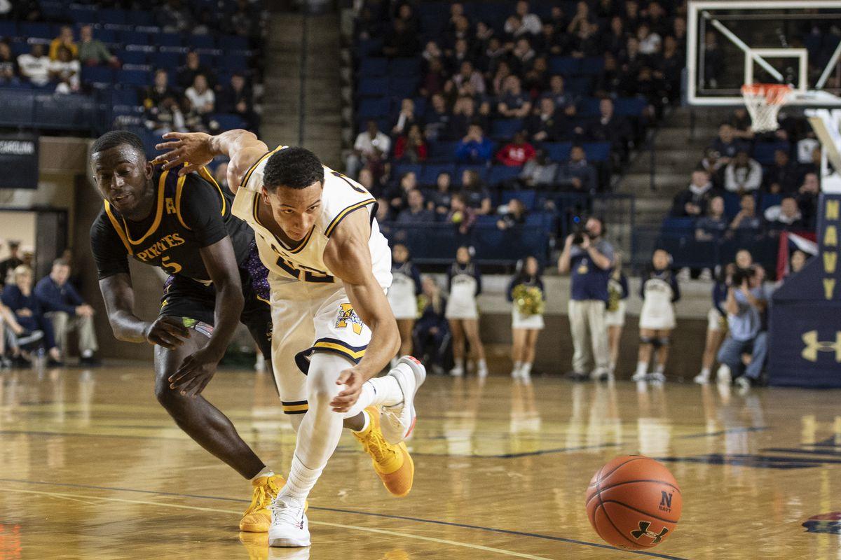 NCAA Basketball: East Carolina at Navy