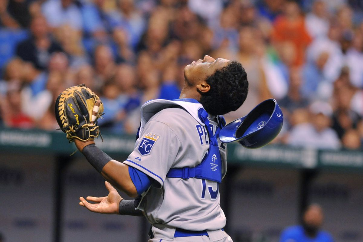 The key to the Royals season might be their 24 year old backstop.