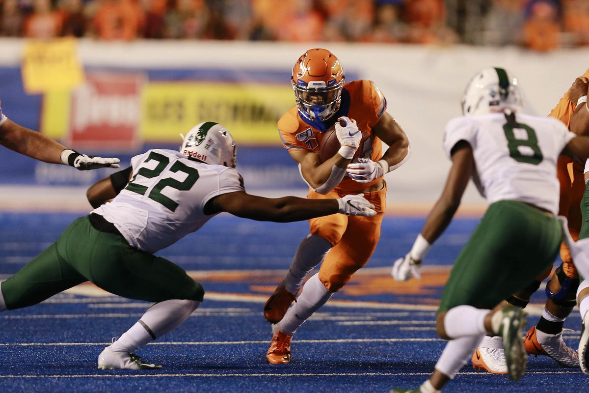 NCAA Football: Portland State at Boise State
