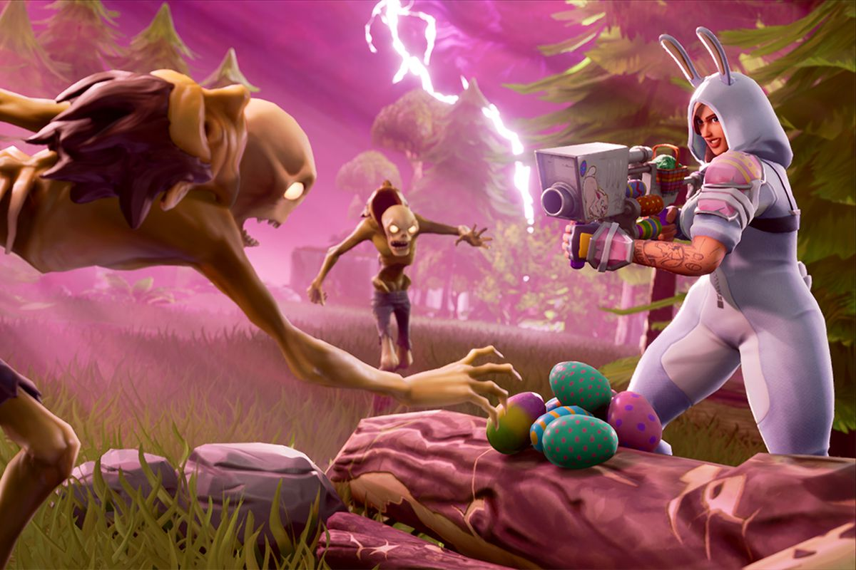 Fortnite update adds guided missiles, Easter egg launchers and