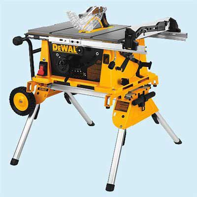 DeWalt DW744XRS with Stand Portable Table Saw