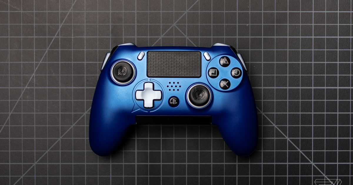 Scuf Vantage Review A Complete Reimagining Of The Ps4