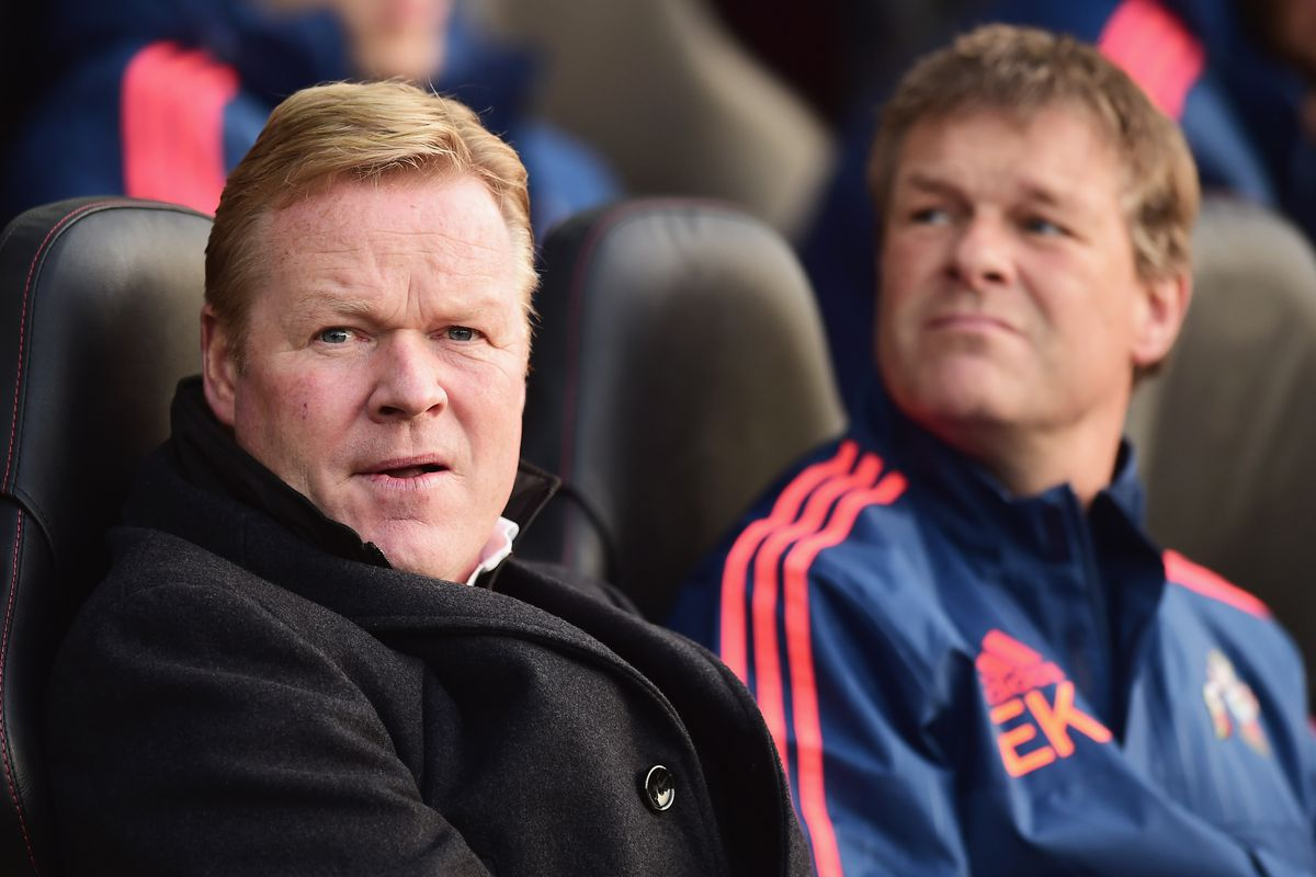 Ronald Koeman has a couple questions about his squad heading into January.