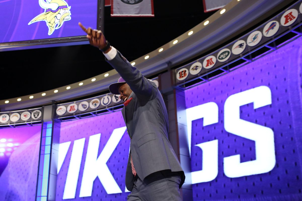Lot of pictures of Teddy Bridgewater today. Hey, if we had pictures of Anthony Barr, we'd use them. But we don't. . .yet.