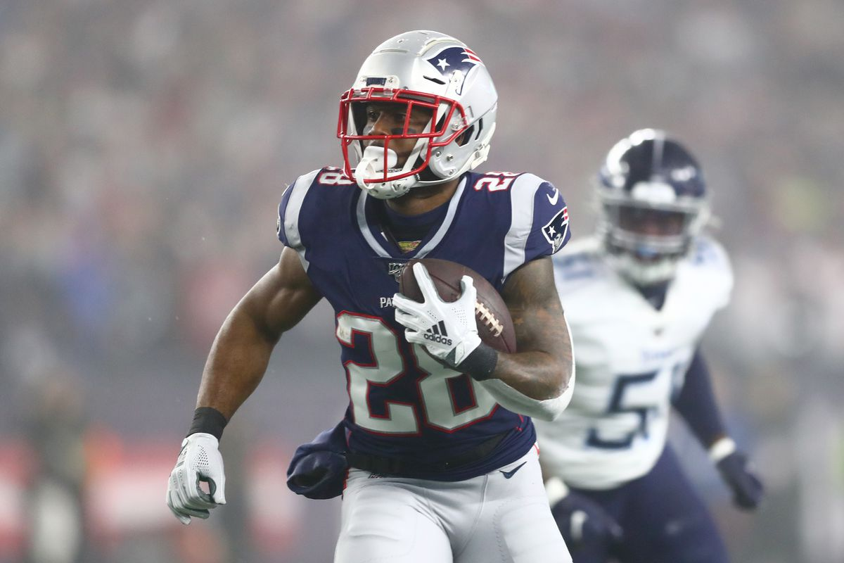 Fantasy Football Sleepers 2020 James White Getting Hyped By Beat Reporter Jeff Howe Draftkings Nation
