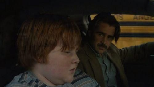 Chad and Ray Velcoro sitting in a car in 'True Detective'