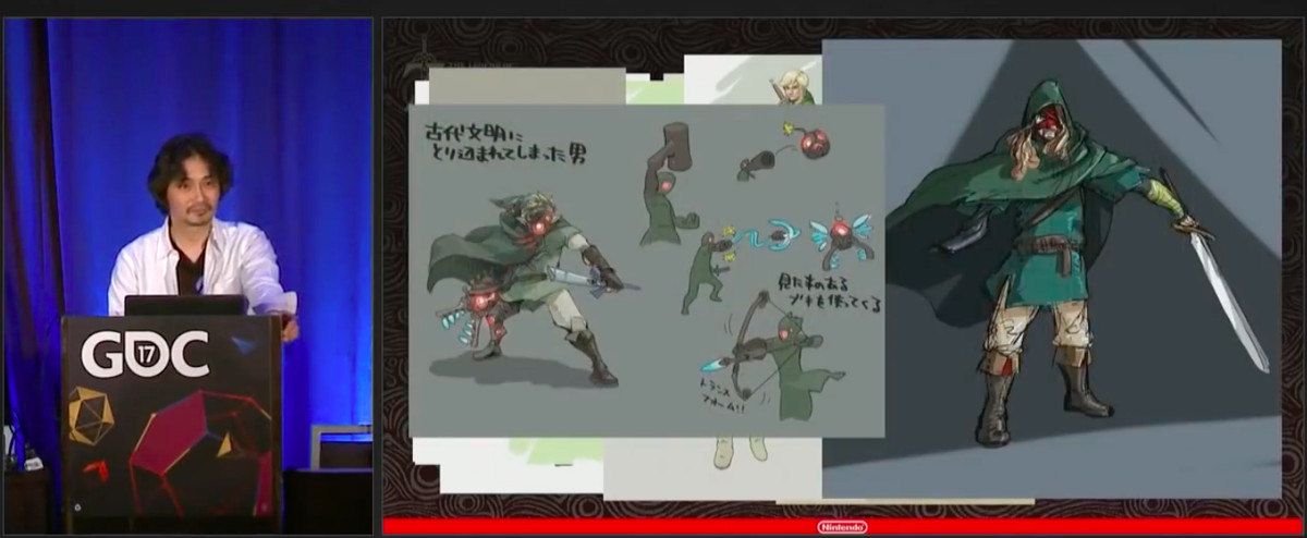 Breath Of The Wild S Concept Art May Have A Big Clue About