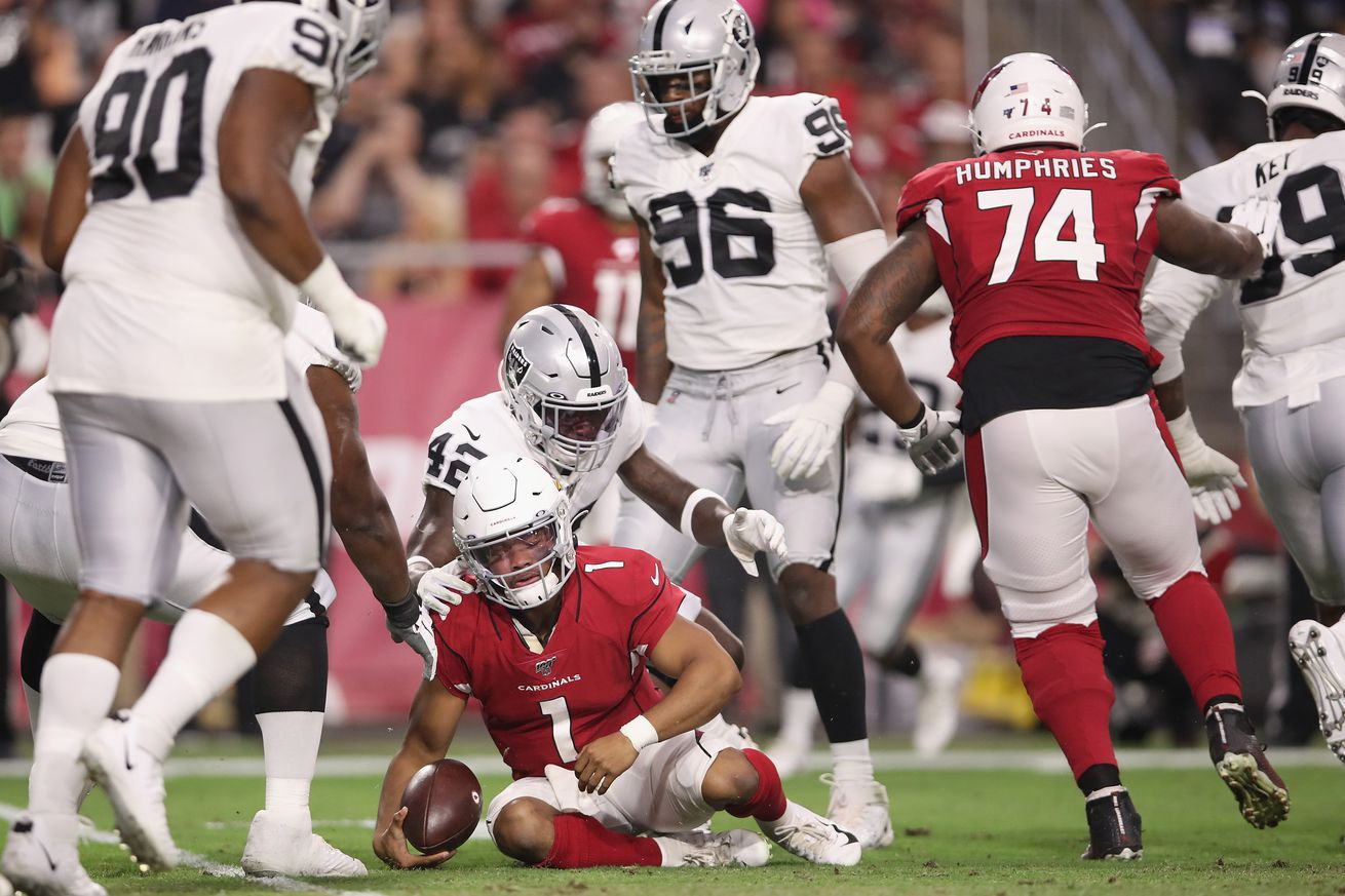 Kyler Murray's second preseason game was not good, the clapping rule was worse