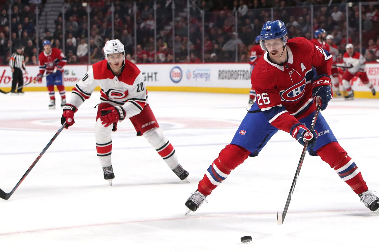 Canadiens vs. Hurricanes: Game preview