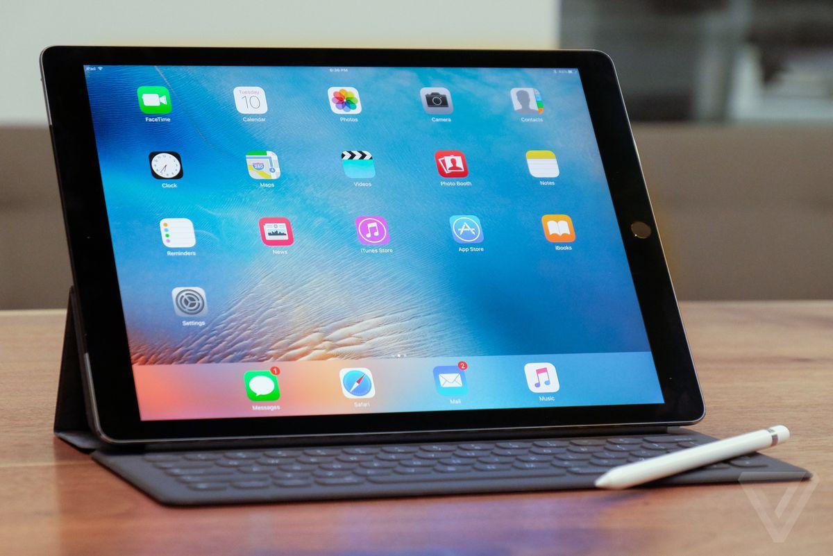 iPad Pro stock EMBARGO