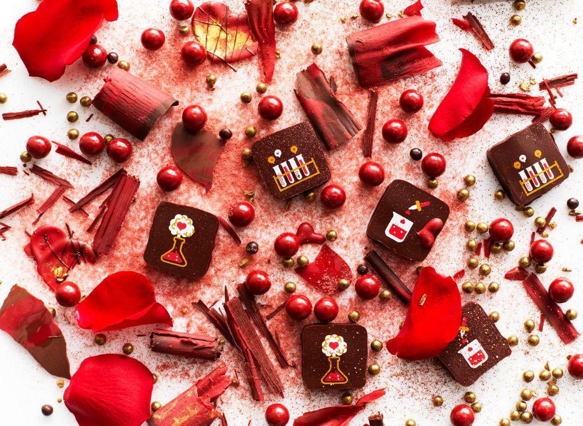 Valentine's chocolates from Recchiuti