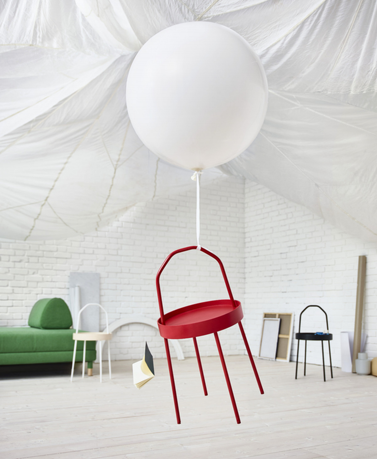 Ikeas new products coming in february have a playful 80s vibe curbed the circular burvik side table has gasp a handle for all those times you need to carry a table around with you must be made for digital nomads and gumiabroncs Images