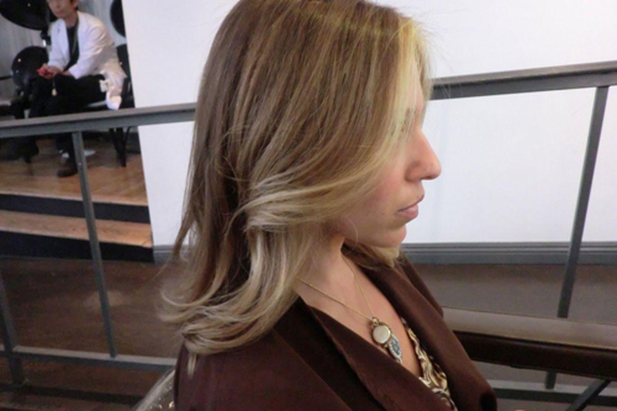 """An """"after."""" Photo via <a href=""""http://hairbykazumi.tumblr.com/"""">Hair by Kazumi</a>"""