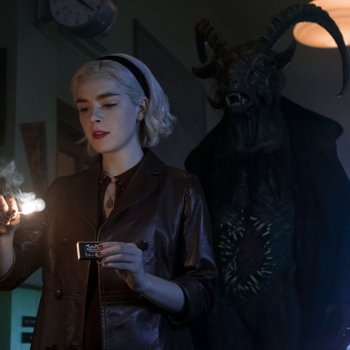 Netflix's Chilling Adventures of Sabrina keeps the Harry Potter