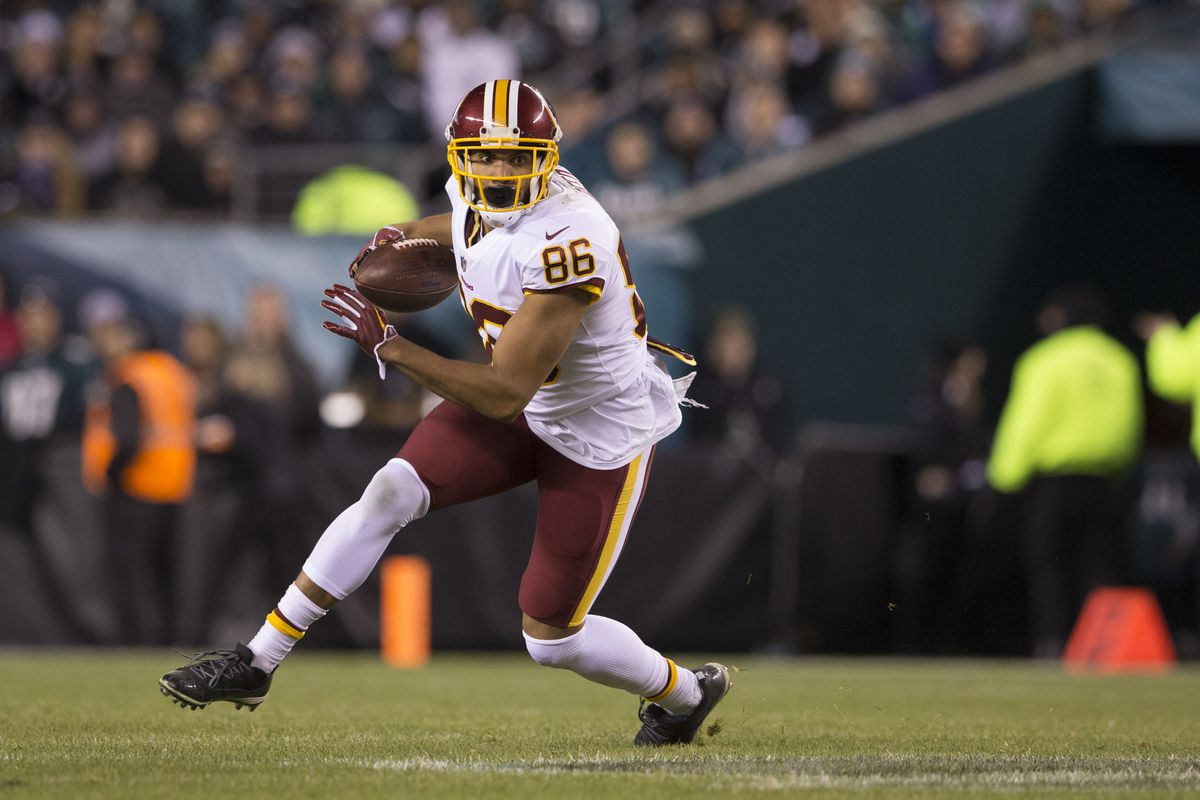 best service 9f945 2f7a6 Jordan Reed injury update: Redskins tight end will not play ...