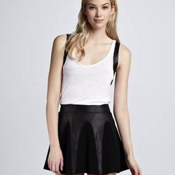 """The uses for this skirt are endless, but that isn't even the best part: The loose hemline will make anyone's legs look amazingly long and slender. $78, <a href=""""http://www.cusp.com/product.jsp?rte=%252Fetemplate%252Fp6E.jsp%253FparentId%253Dcat110001%2526"""