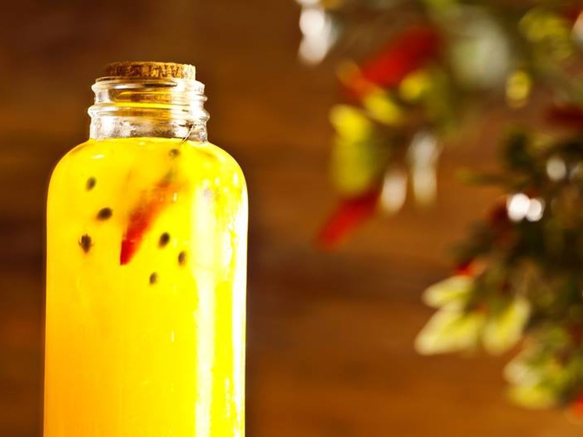 Meza Bar's Tropical Soda Pop.