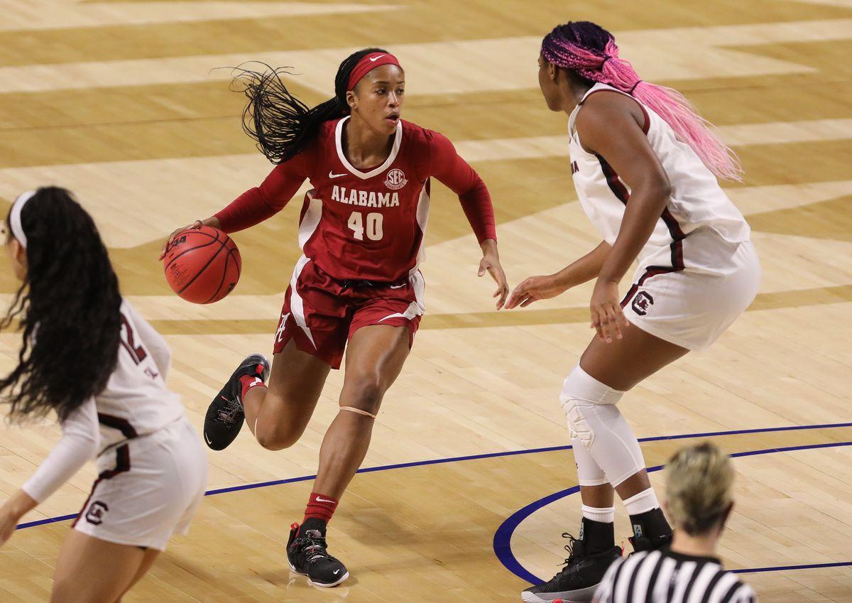 NCAA Womens Basketball: SEC Conference Tournament-South Carolina vs Alabama
