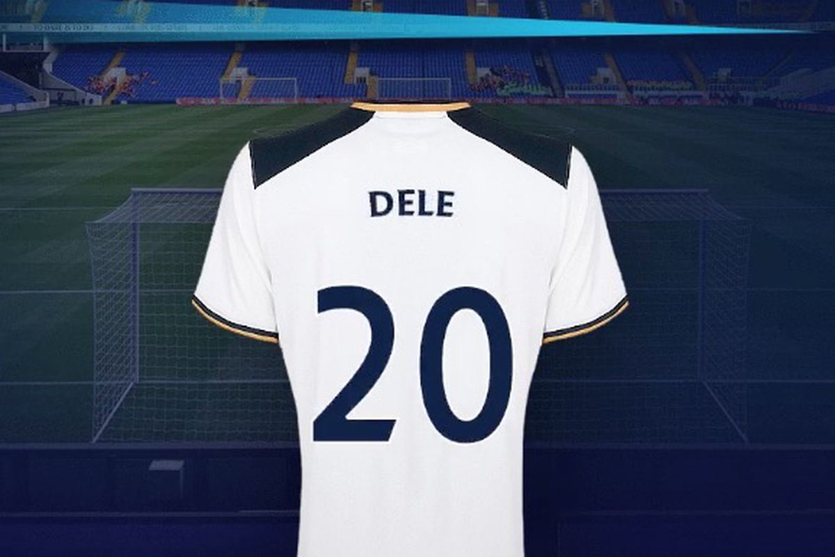 size 40 f6ebf 462e5 Call him Dele: Alli keeps Tottenham kit number, changes ...