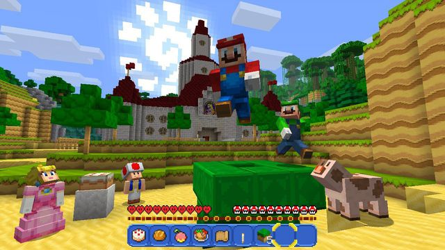 <em>Minecraft</em> for Nintendo Switch