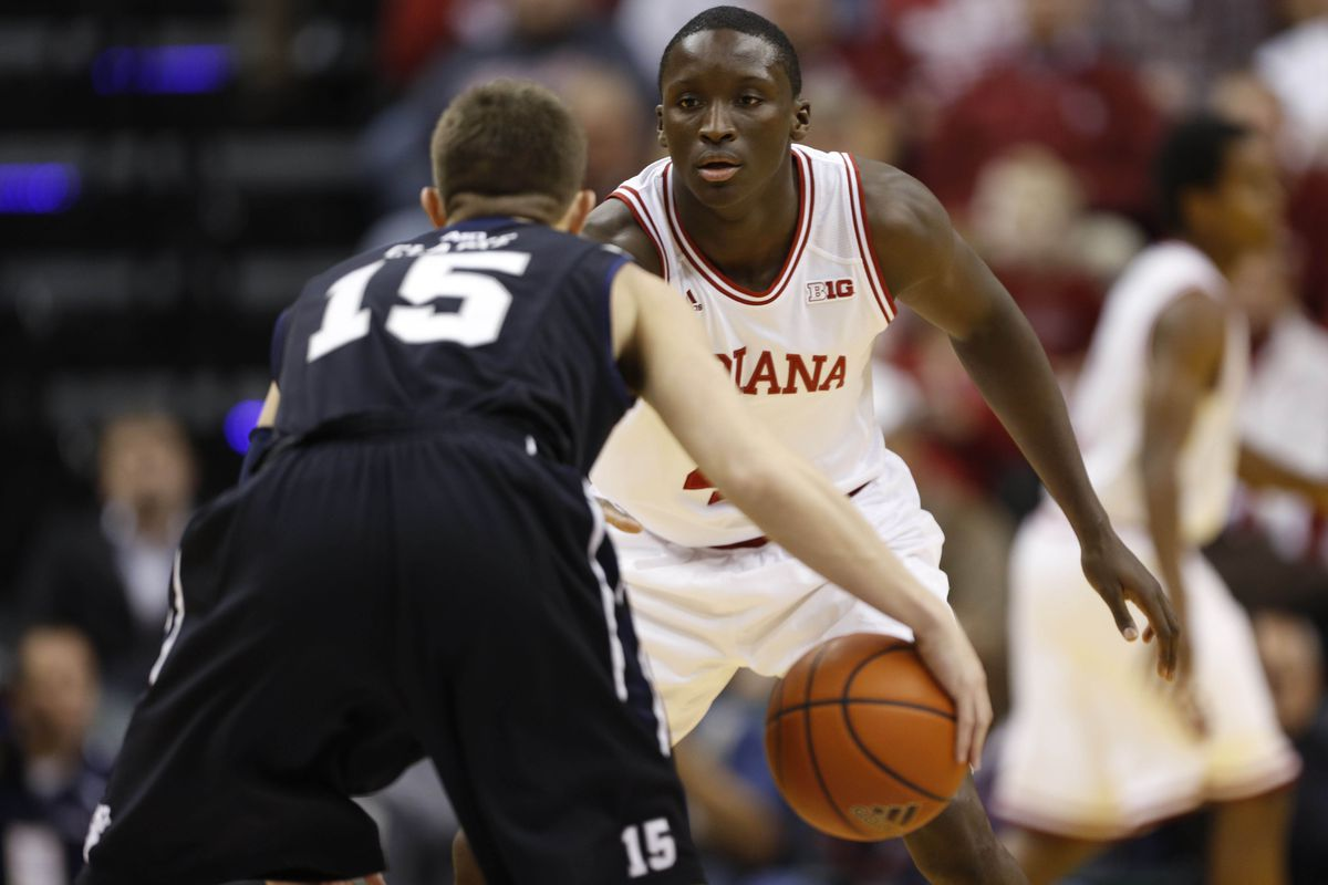 Rotnei Clarke and Victor Oladipo