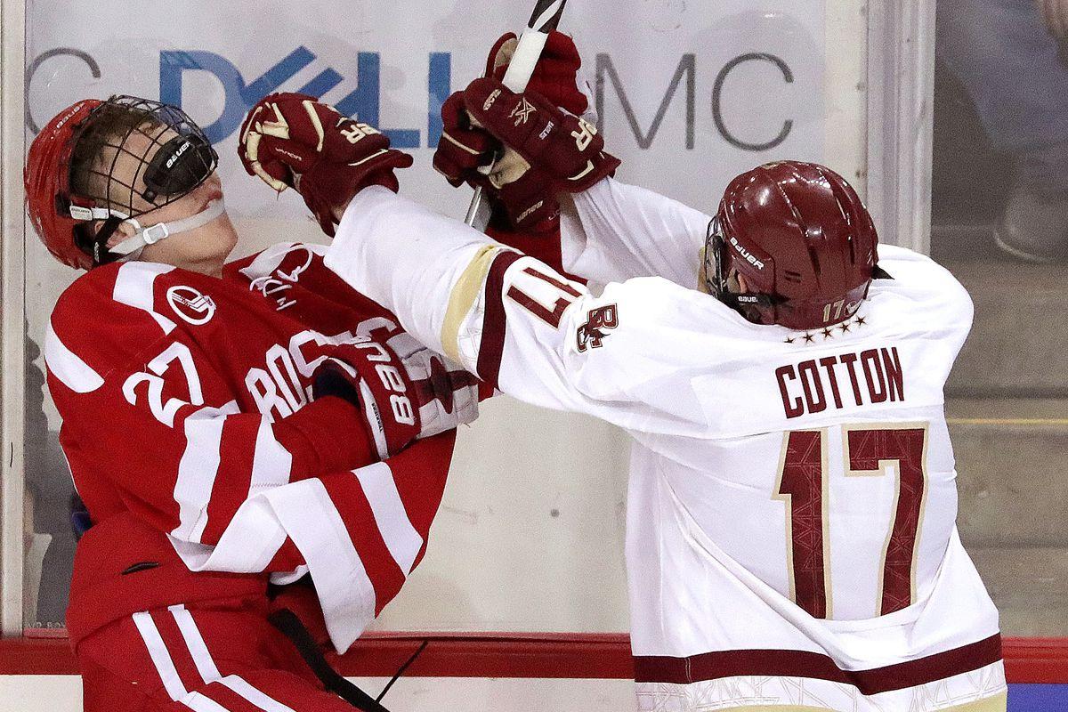 Boston University Vs Boston College Men's Hockey