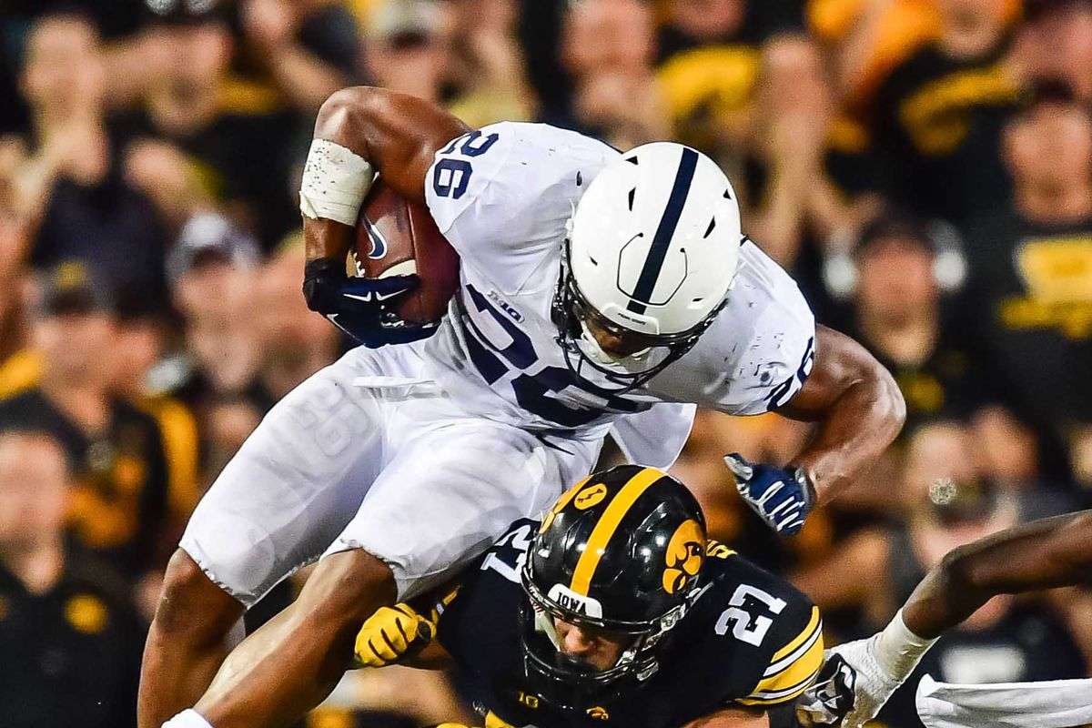 wholesale dealer 4984c f128b Penn State football: How Saquon Barkley makes PSU a title ...