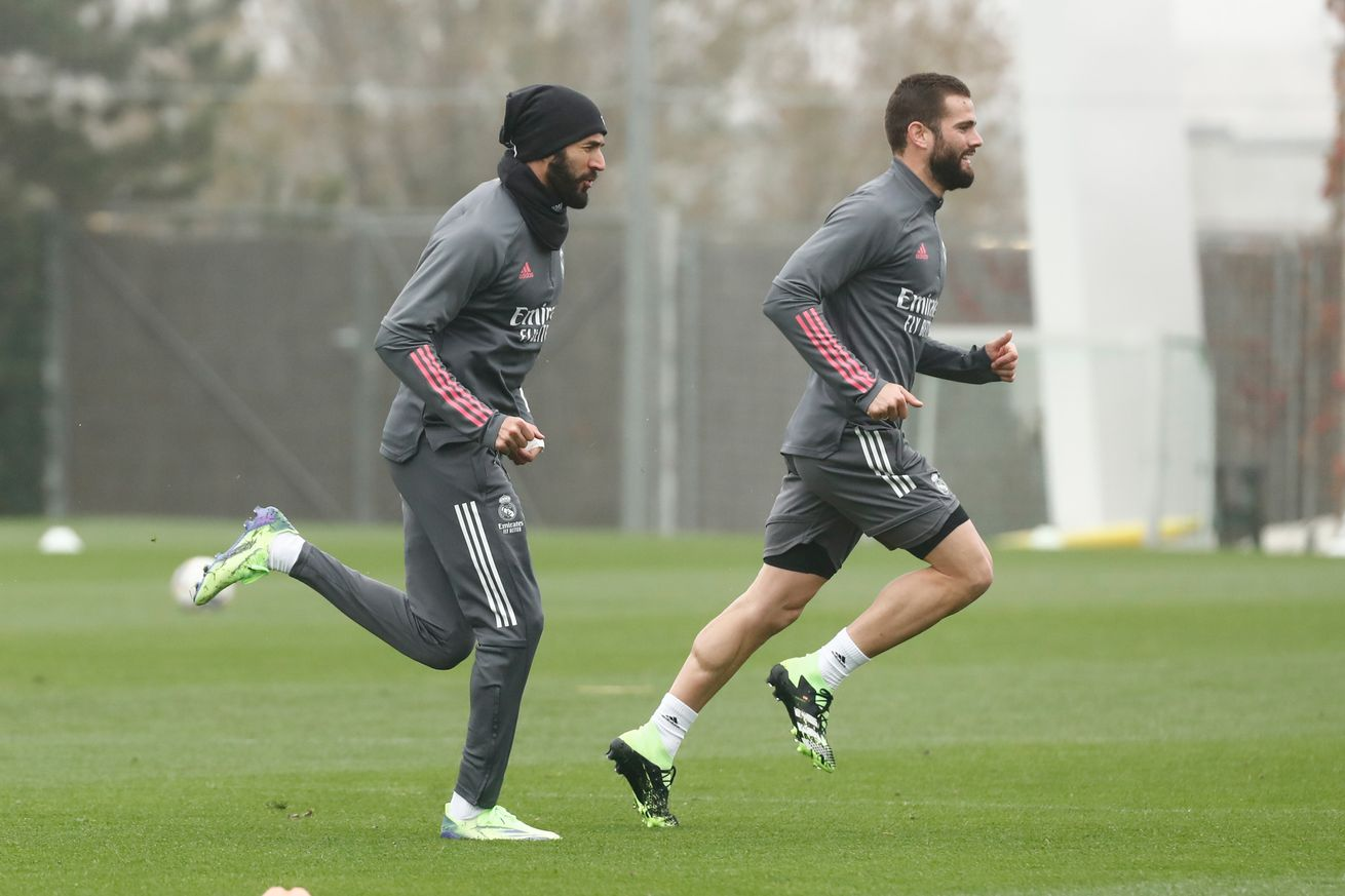 Benzema not training with the squad yet, doubtful for match against Inter Milan