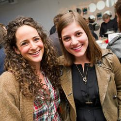 Claire Mazur and Erica Cerulo of Fashion Start-Up of the Year nominee Of a Kind