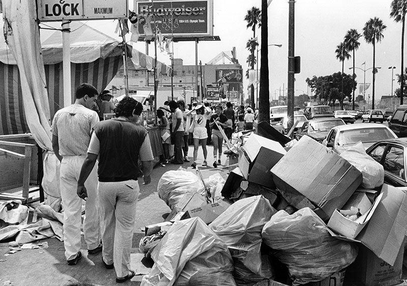 Trash, 1984 Olympics