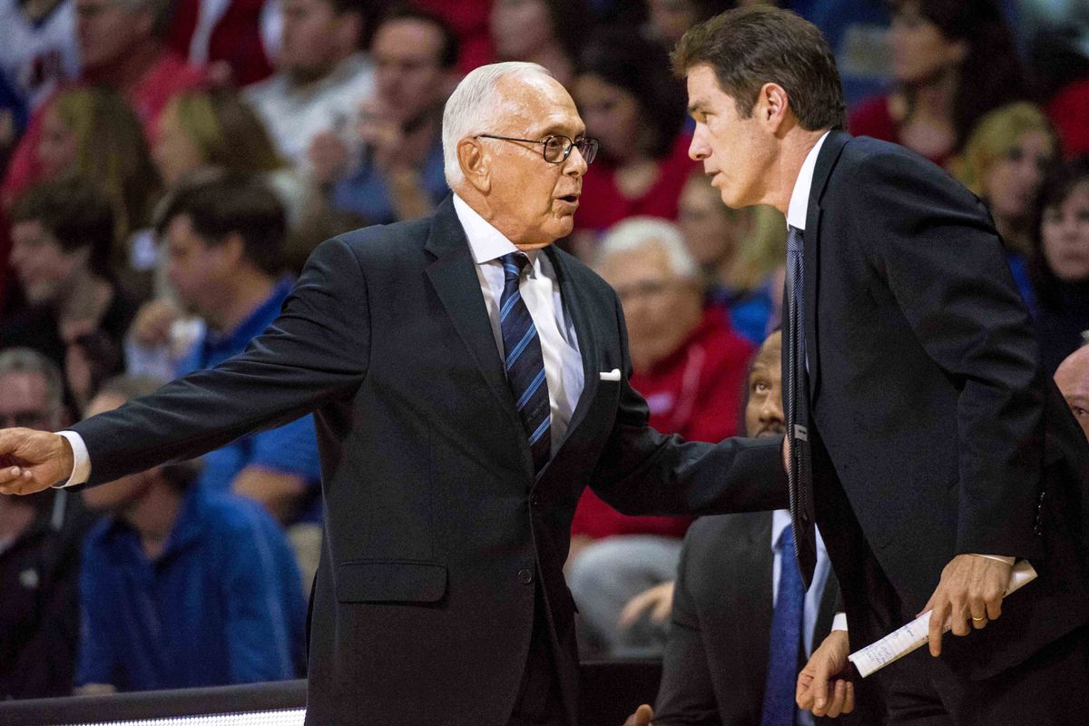 Larry Brown returned to the bench just in time to watch his undefeated Mustangs beat Kent State in the Las Vegas Classic.
