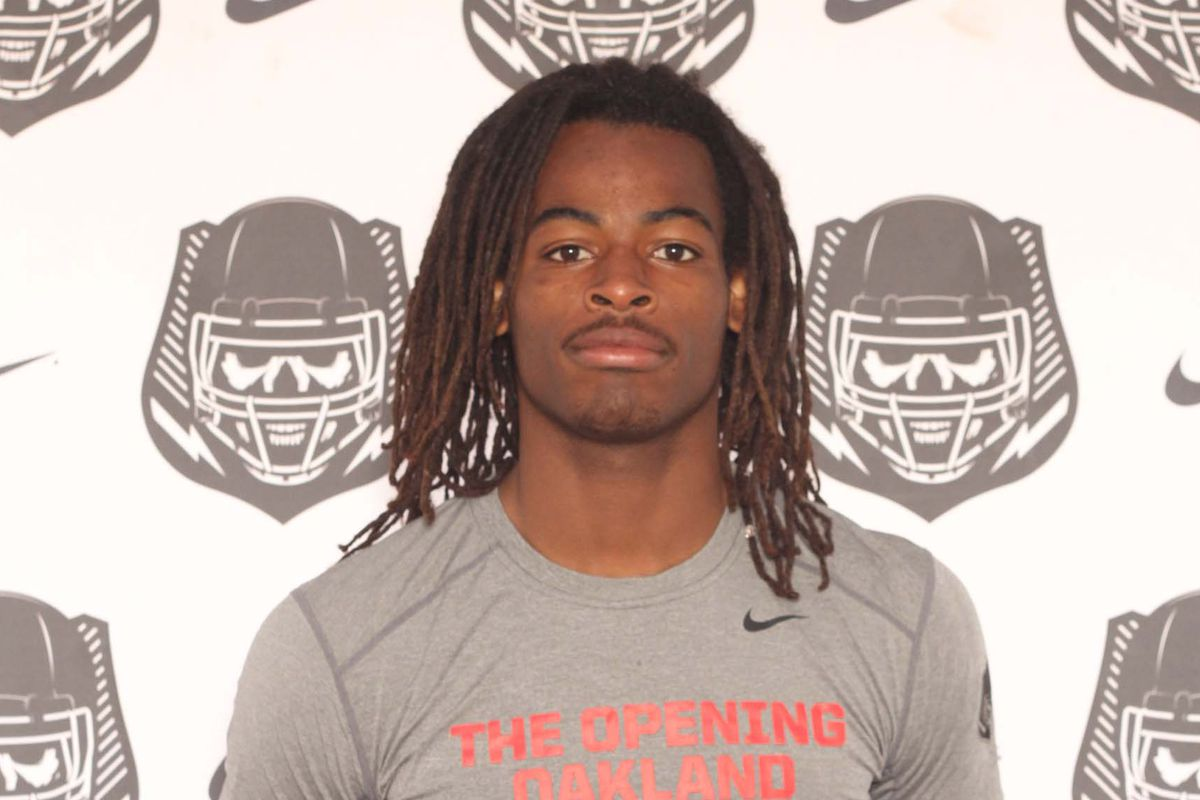 5-star RB Najee Harris, the #1 overall prospect in the nation.