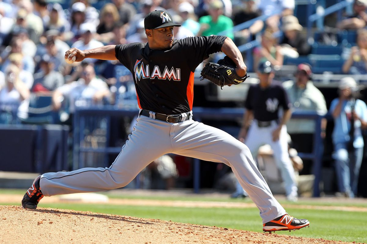 A.J. Ramos is just one of a few interesting bullpen names on the Marlins this year.