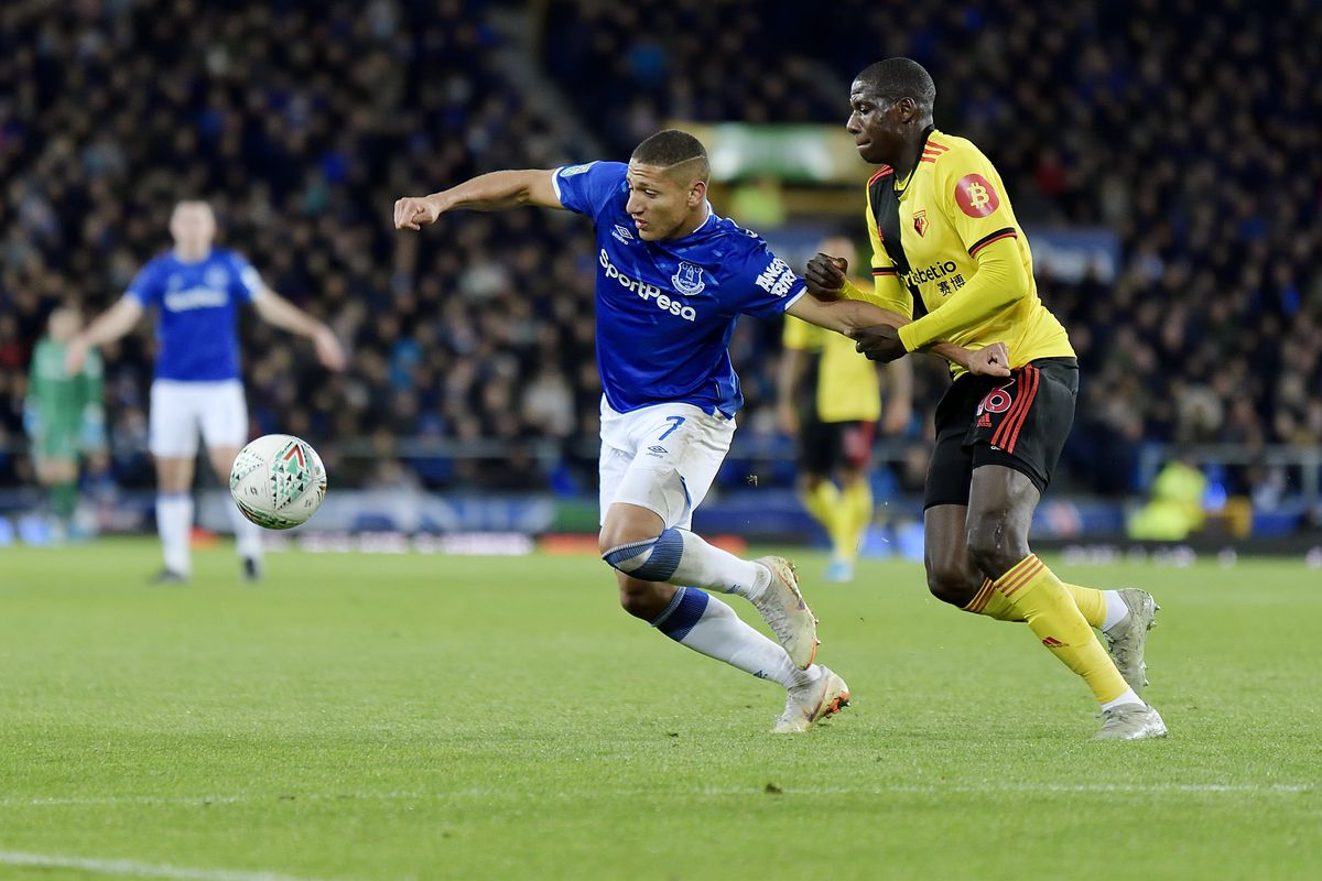 Everton FC v Watford FC - Carabao Cup Round of 16