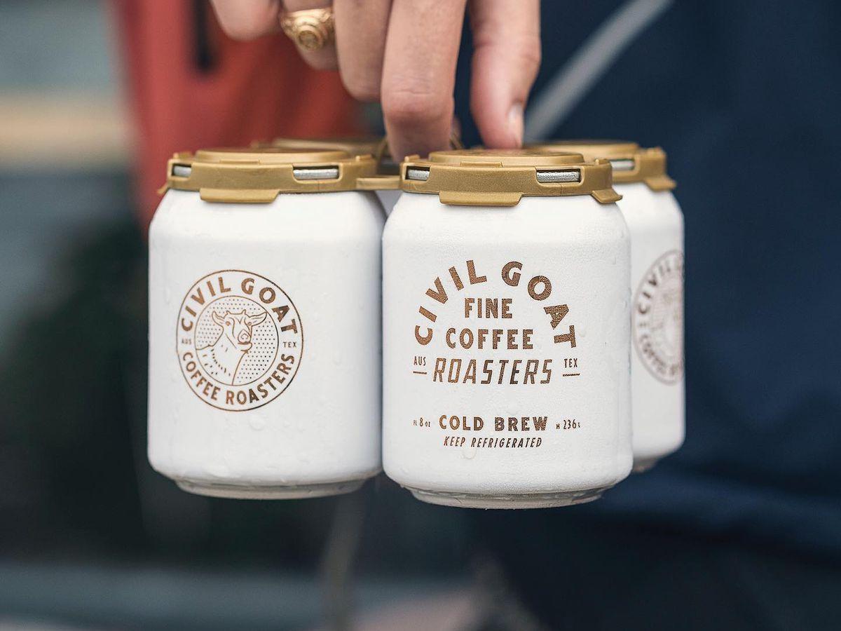 Civil Goat's cold-brew pack