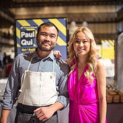 Paul Qui and Deana Saukam